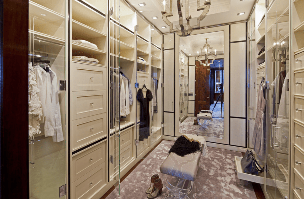Closet Looks Reminiscent Of A HighEnd Boutique LoneStar Design - High end closet design