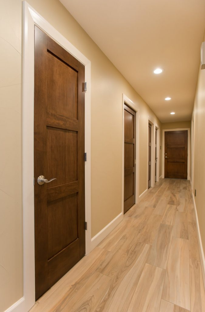 Ft Worth Whole Home Remodel with New Interior Doors and Tile Flooring