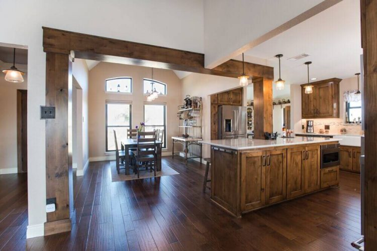 Fort Worth Kitchen Remodel with Open Dining