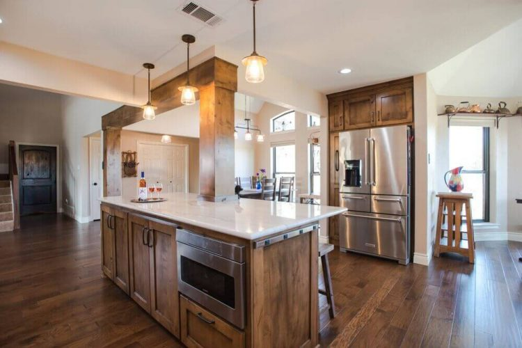 Fort Worth Kitchen Remodel with Wide Walkways