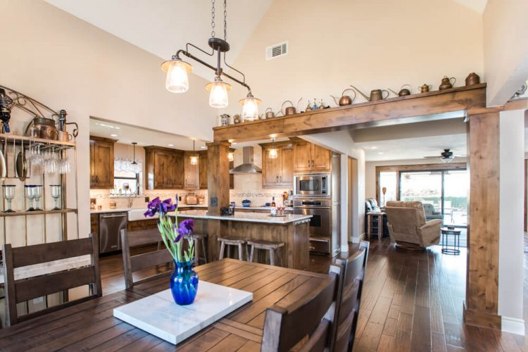 Ft Worth Kitchen Remodel with open concept