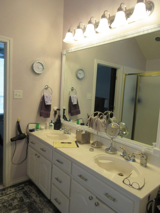 Ft Worth Outdated Bathroom Remodel
