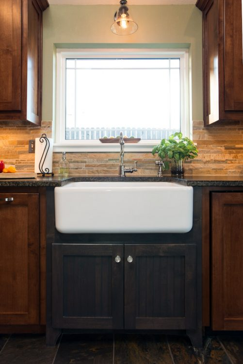 Ft Worth Kitchen Remodel with Apron Sink