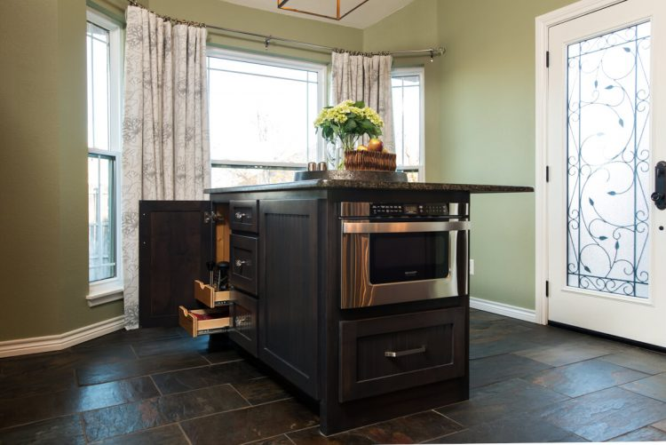 Fort Worth Kitchen Remodel with Microwave Drawer