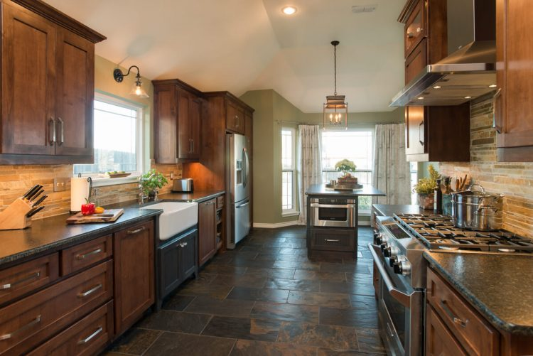 Fort Worth Kitchen Remodel with Slate Flooring