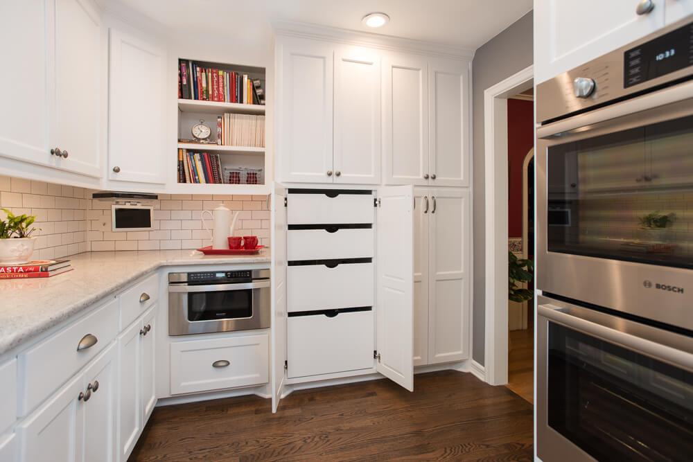 Ft Worth Kitchen Remodel with Custom Pantry