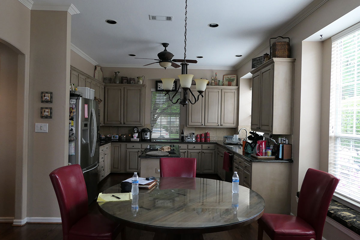 Before Flower Mound Kitchen Remodeling Contractor